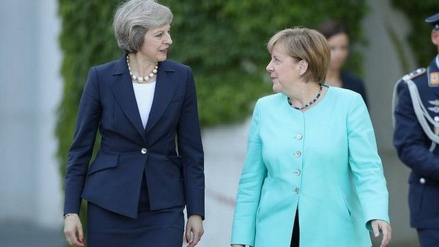 Brexit, Merkel v May: Negotiating strategy and tactics